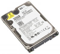 "WD HDD 2,5"" - 320 GB"